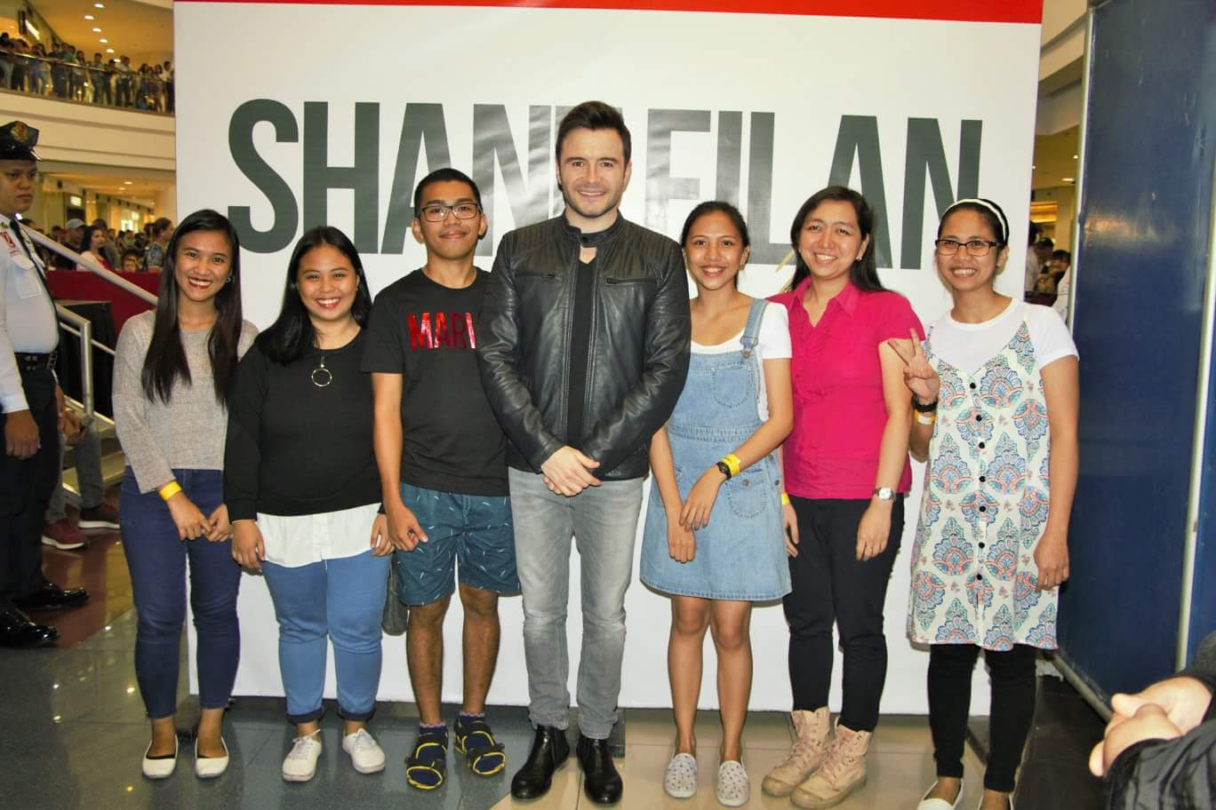 Shane Filan mall tour